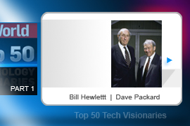 No company has touched so many facets of technology as the brainchild of Dave Packard (left) and Bill Hewlett. Originally responsible for building audio oscillators for Walt Disney in the 1940s, HP went on to create all manner of test equipment for electronics before jumping into computer servers, desktops, calculators, cameras, and of course printers.