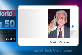 Whether you're toting an iPhone, a Razr, or an enV, you owe a debt to Martin Cooper and his 1973 patent responsible for the mobile phone as we know it. His invention, created during his tenure at Motorola, weighed just shy of 2 pounds, and ten years would pass before mobile phones broke the 1-pound barrier.