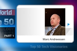 Marc Andreessen - Bits and pieces of Andreessen's Mosaic web browser's code remain standard software components of most of today's commercial browsers. It's a safe bet that one of Andreessen's other creations will leave similar legacies: Netscape, the company he founded, set off the tech stock craze of the 1990s.