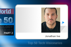 Apple VP and design guru Jonathan Ive killed off the beige boxes and bricklike pocket gizmos that had become standard-issue in the tech industry. Ive's designs for the original iMac and for the iPod got people thinking about tech products as fashion accessories and decorative items.
