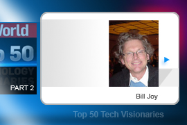 Bill Joy was chief scientist for Sun Microsystems for over 20 years, where he oversaw the development of Java. His greatest achievement is probably an academic project he worked on at Berkeley: The development of Berkeley Software Distribution (BSD), a major flavor of Unix; even Mac OS X uses BSD as its basis.