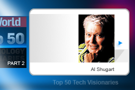 Al Shugart founded Seagate Technology, where he developed technology that he had tinkered with during a stint at IBM (where he led the team that invented the floppy disk) into the hard drive for the mass market.