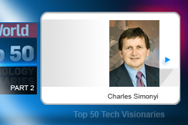 Charles Simonyi - As head of Microsoft's application development group, Simonyi oversaw development of both Word and Excel back in the MS-DOS days and superintended the app suite for more than 20 years. Fun facts to know and tell: Simonyi was the second Hungarian in space  and is Martha Stewart's boyfriend.