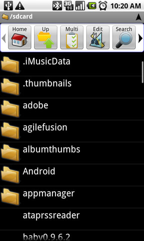 ASTRO File Manager for Android will help you keep your phone   lean.
