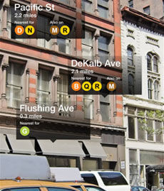 Nearest Subway app