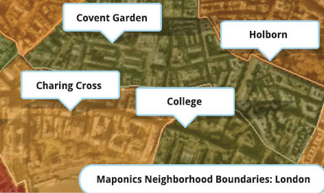 Neighbourhood boundaries