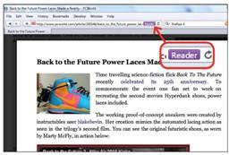 Safari's Best Feature: Safari Reader
