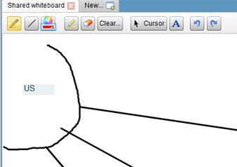 Show Document whiteboard