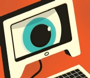 eyeball screen