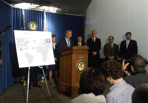 FBI press conference