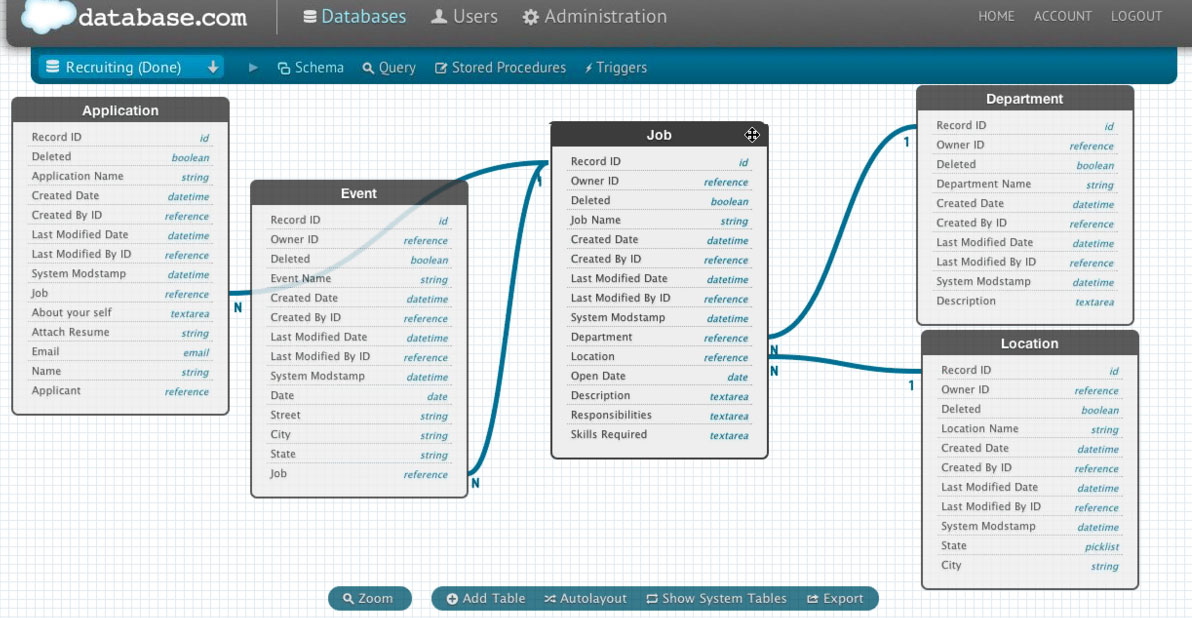 Database UI