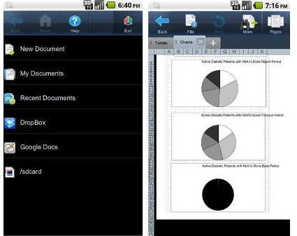 Android: 5 mobile office suites compared