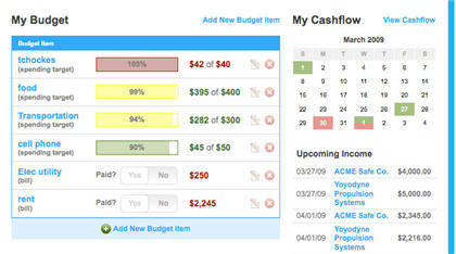 Online finance managers