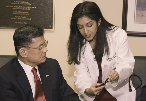 Dr. Divya Shroff, Chief of Staff for Informatics, Washington D.C. VA Medical Center