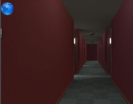 Inside a 3D building