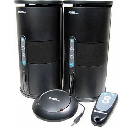 Audio Unlimited 900MHz Wireless Indoor/Outdoor Speakers