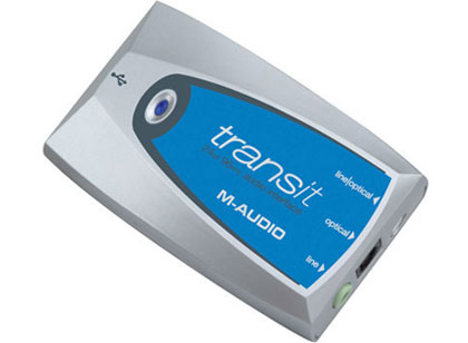 M-Audio Transit USB sound card