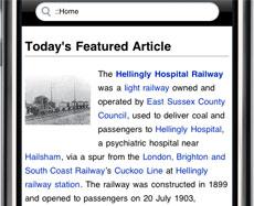 new Wikipedia Mobile