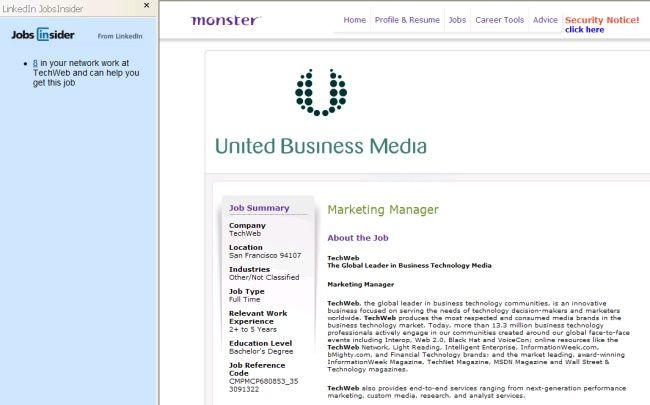 LinkedIn JobsInsider