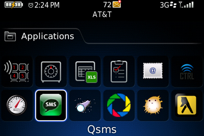 Qsms for BlackBerry Icon