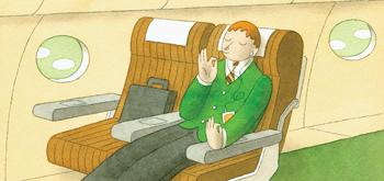 Get a good plane seat