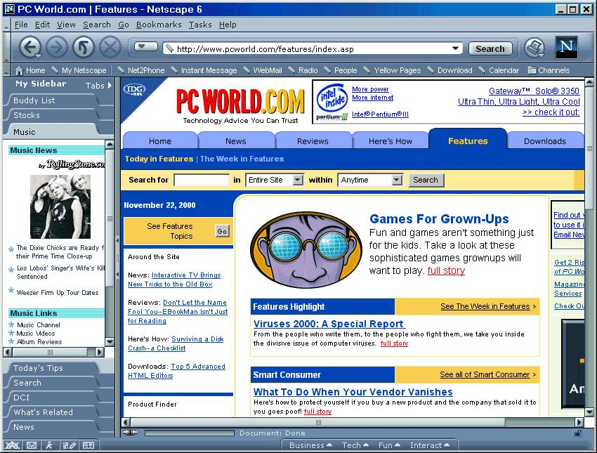 Netscape 6; click for full-size image.
