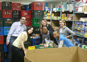 Food bank team