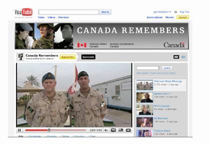 YouTube - Canada Remembers