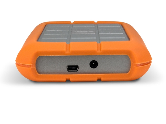 LaCie Rugged Portable External Hard Drive