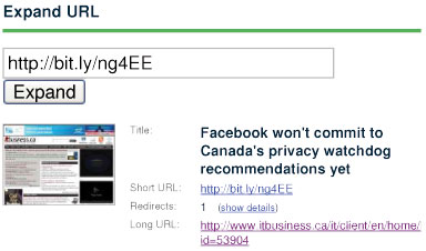 Long URL