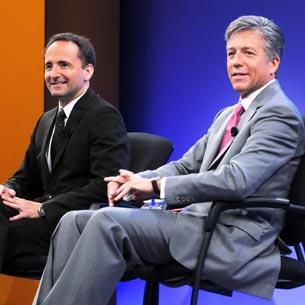 SAP's Co-CEOs Bill McDermott and Jim Hagemann Snabe
