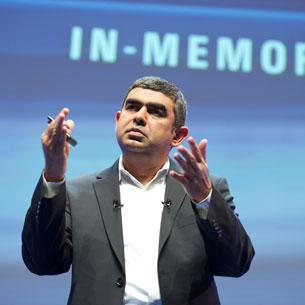 Vishal Sikka, Chief Technology Officer, SAP