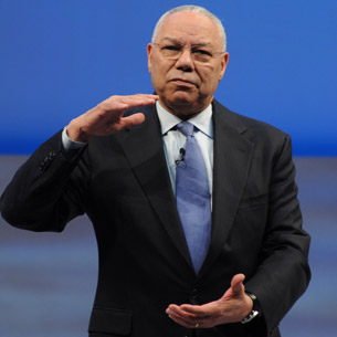 Former Secretary of State, Colin Powell
