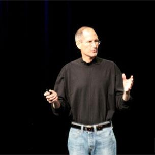 Steve Jobs surprise