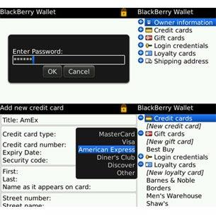 BlackBerry Wallet