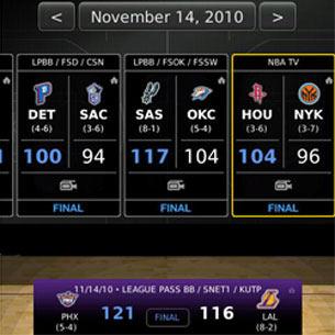 NBA Game Time Lite 2010-11