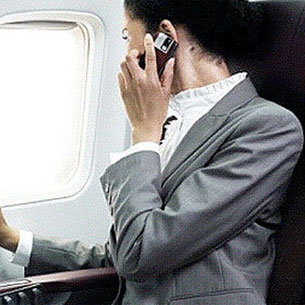 Your Cell Phones Will Cause an Airplane to Crash