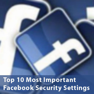 Facebook Privacy: 10 most important security settings