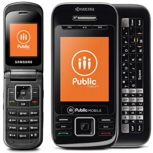 Public Mobile's top handsets