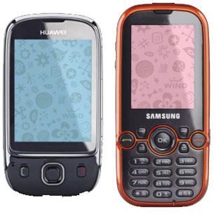 Wind's lower-end phones