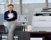 HP's offers secure document printing