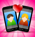 Cupid goes mobile in modern search for love