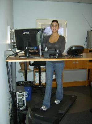 Burn Calories At Work With A Treadmill Desk It Business Blog